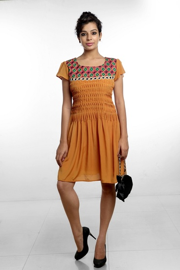 Ochre Casual day out dress