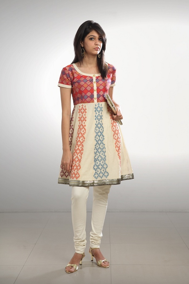 Brocade Embroidered Anarkali